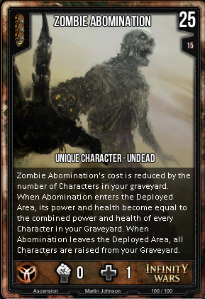 ASCENSION- Zombie Abomination