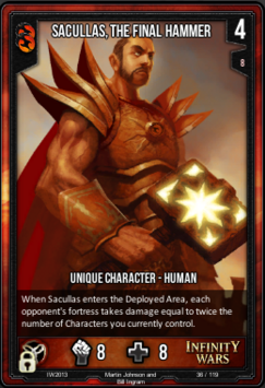 Sacullas, The Final Hammer