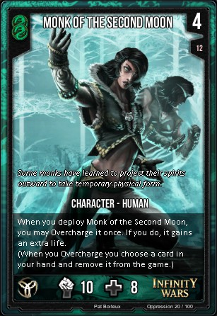 OPPRESSION- Monk Of The Second Moon