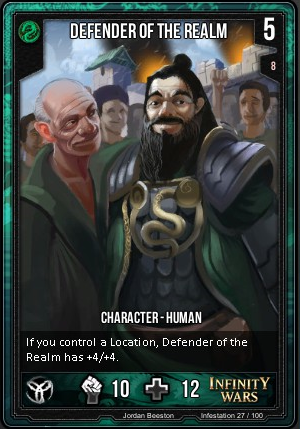 INFESTATION- Defender Of The Realm