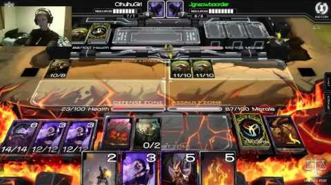 Infinity Wars Constructed Verore vs jgnsowbaorder