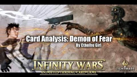 Card Analysis Demon of Fear