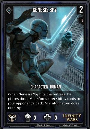 ORDER- Genesis Spy