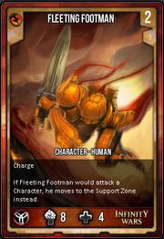 Gold Fleeting Footman