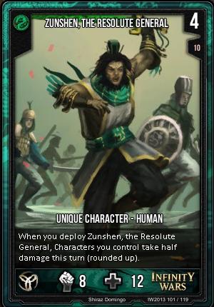 CORE- Zunshen, The Resolute General