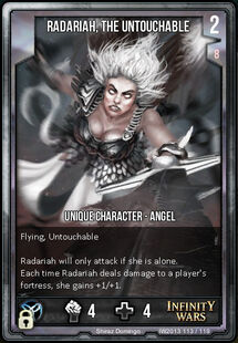 Radariah, The Untouchable