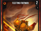 Fleeting Footman