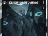 Forerunner Of The Champions