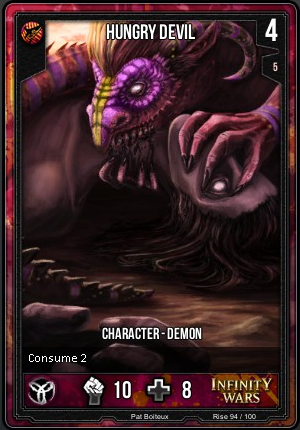 RISE- Hungry Devil