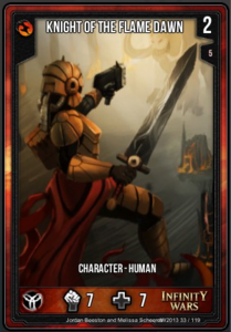 Knight of the Flame Dawn