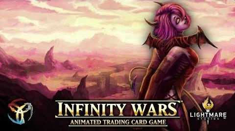 Infinity Wars TCG- First Look