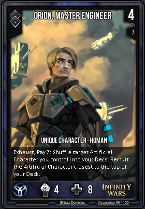 ASCENSION- Orion, Master Engineer