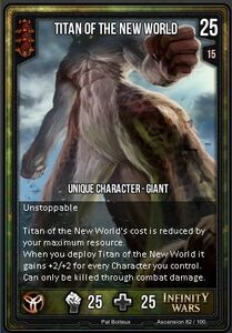 Titan of the New World