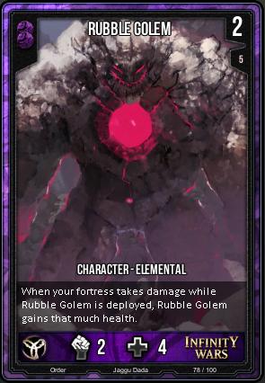 ORDER- Rubble Golem
