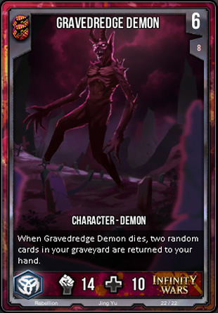 REBELLION Gravedredge Demon