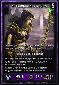 Aleta, Immortal Sorceress
