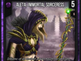 Aleta, Immortal Sorceress