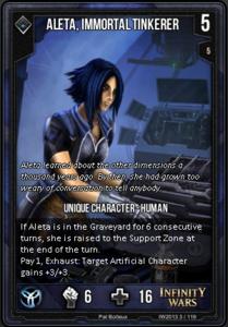 Aleta, Immortal Tinkerer