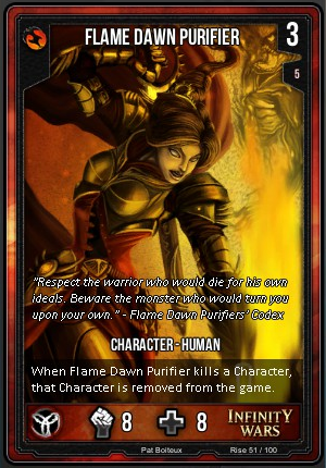 RISE- Flame Dawn Purifier