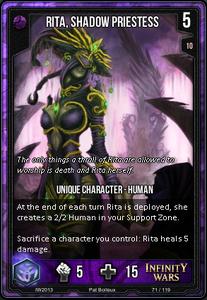 Rita, Shadow Priestess