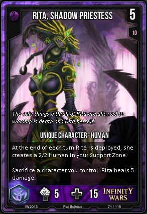 CORE- Rita, Shadow Priestess
