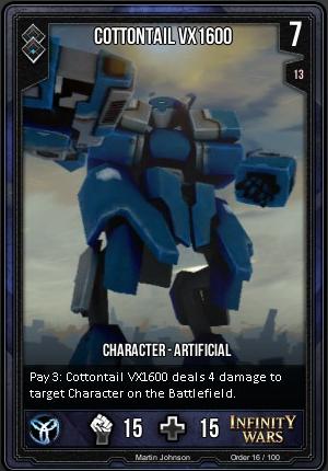 ORDER- Cottontail VX 1600