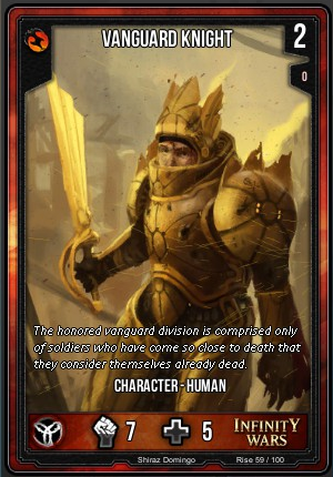 RISE- Vanguard Knight