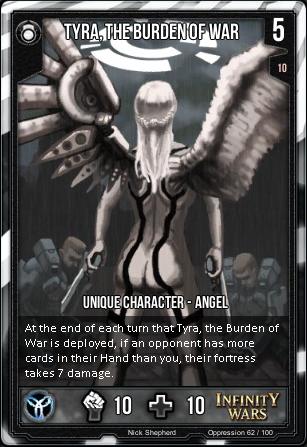 OPPRESSION- Tyra, The Burden Of War