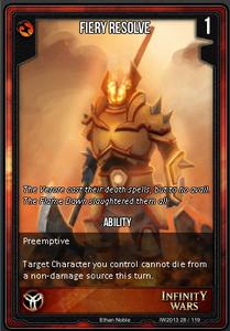 Fiery Resolve
