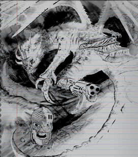 Concept Handdrawn Dragon Chaotic Envy