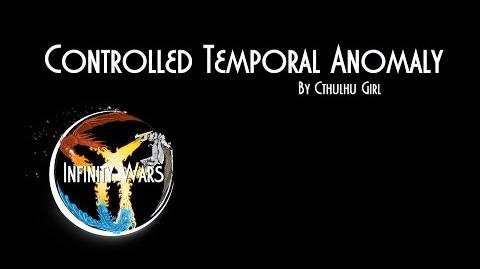 Card Analysis Controlled Temporal Anomaly