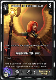 Gabrielle, the Torch in the Dark