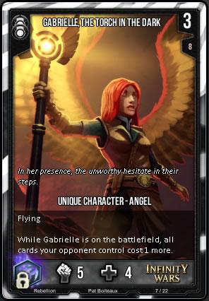 REBELLION Gabrielle, Torch in the Dark