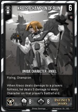 ASCENSION- Kraos, Champion Of Ruin