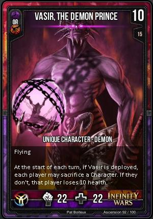ASCENSION- Vasir, The Demon Prince