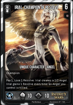 ASCENSION- Irial, Champion Of Resolve