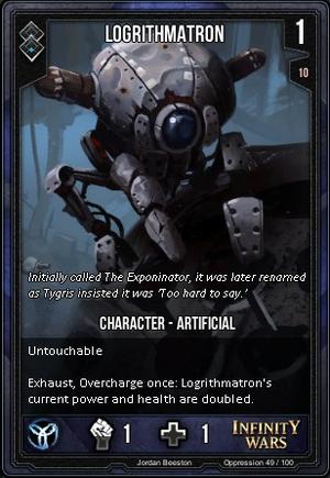 OPPRESSION- Logrithmatron