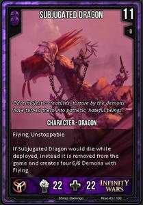 Subjugated Dragon