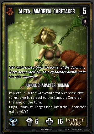 CORE- Aleta, Immortal Caretaker