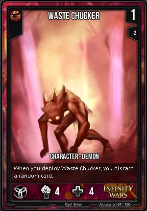 ASCENSION- Waste Chucker
