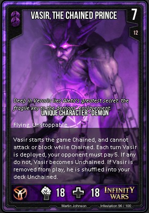 INFESTATION- Vasir, The Chained Prince