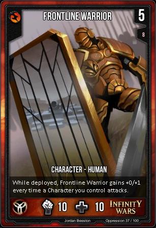 OPPRESSION- Frontline Warrior