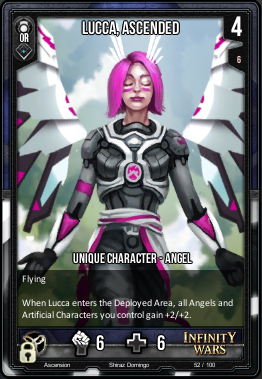 ASCENSION- Lucca, Ascended