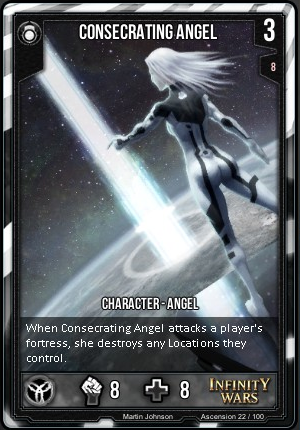 ASCENSION- Consecrating Angel