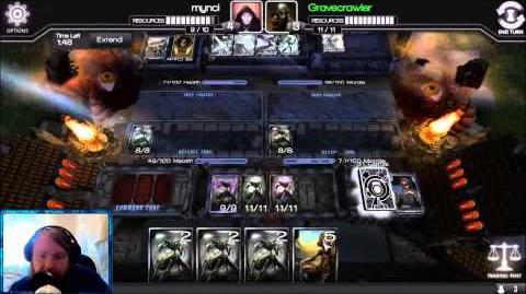 Infinity Wars Shoutcast Gravecrawler vs Mynci