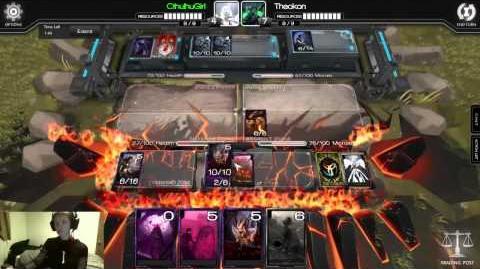 Infinity Wars Ranked Verore vs. Theokon