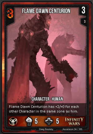 ASCENSION- Flame Dawn Centurion
