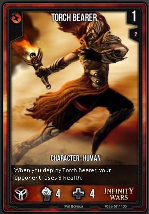 RISE- Torch Bearer