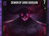 Demon Of Dark Bargain