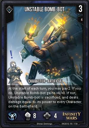CORE- Unstable Bomb-Bot